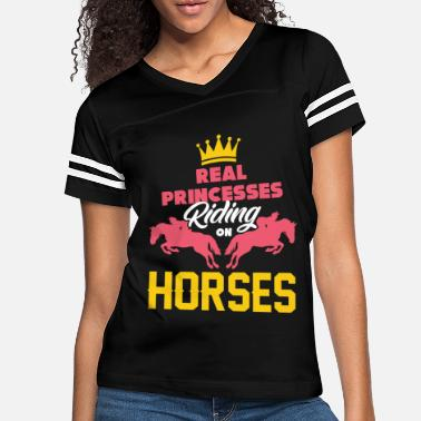 Foal Horse Riding Princess Gift - Women's Vintage Sport T-Shirt