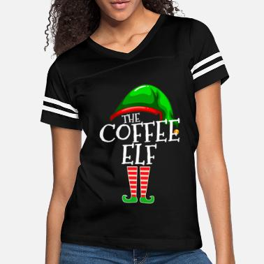 The Coffee Elf Group Matching Family Christmas - Women's Vintage Sport T-Shirt