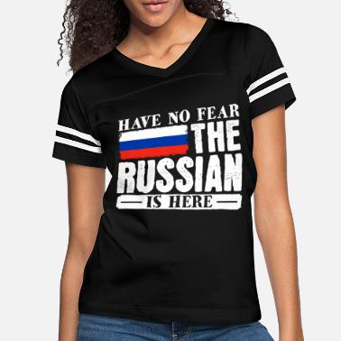 German Eagle Have no fear the russian ist here - Women's Vintage Sport T-Shirt