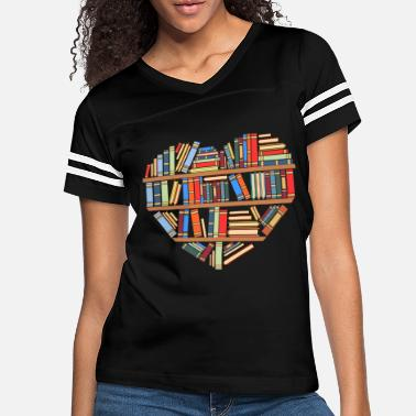 Book Hearty Library Books For Amazing People Reading - Women's Vintage Sport T-Shirt