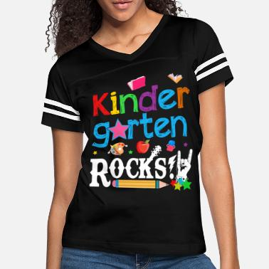 Kindergarten Kindergarten Rocks T Shirt Back To School - Women's Vintage Sport T-Shirt