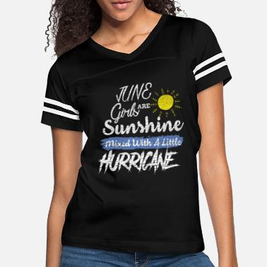 Teen June Girls are Sunshine Mixed with Little - Women's Vintage Sport T-Shirt