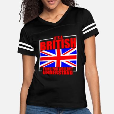 England Great Britain Culture - Women's Vintage Sport T-Shirt