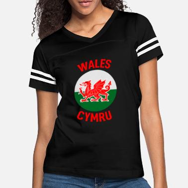 United Wales Home - Women's Vintage Sport T-Shirt