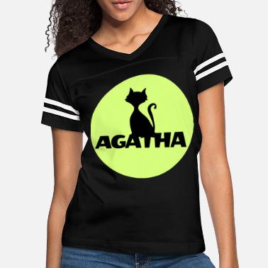 Name Day Agatha Name First name Name Motif name day - Women's Vintage Sport T-Shirt