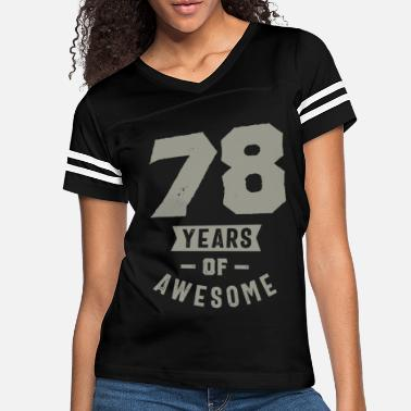 78 Years Old 78 Years Old Birthday Gift - Women's Vintage Sport T-Shirt