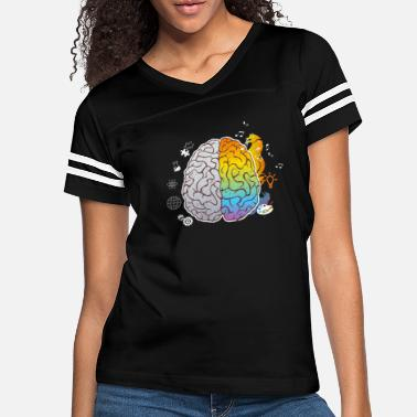 Plain Art Brain - Women's Vintage Sport T-Shirt