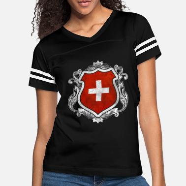 Switzerland Switzerland - Women's Vintage Sport T-Shirt