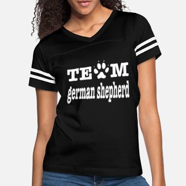 German Dog Lovers Gift Team German Shepherd Shirt Dog Owner - Women's Vintage Sport T-Shirt