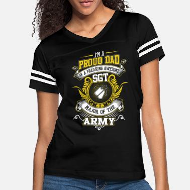 Army T. Major Of The Army T Shirt - Women's Vintage Sport T-Shirt