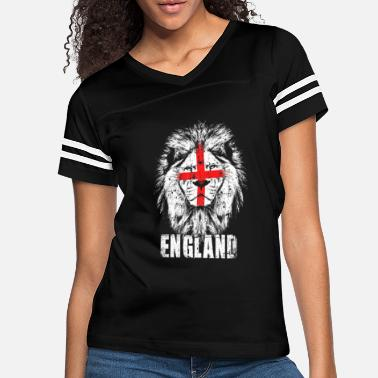 English Lions England Lion - Women's Vintage Sport T-Shirt