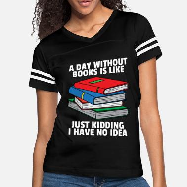 Fathers Day Read More Books Reading Lovers Book Funny Gift - Women's Vintage Sport T-Shirt