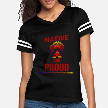 American Indian Proud Indian - Women's Vintage Sport T-Shirt