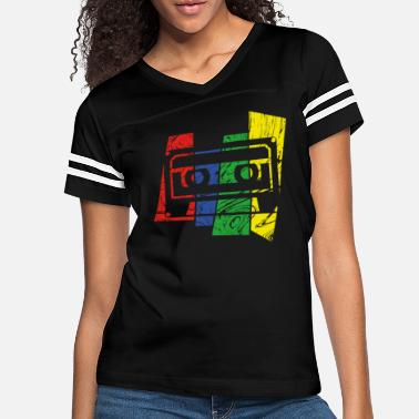 Audio Music Cassette - Women's Vintage Sport T-Shirt