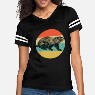 Whistler Canada Vintage Classic Retro color Happy Groundhog Day - Women's Vintage Sport T-Shirt