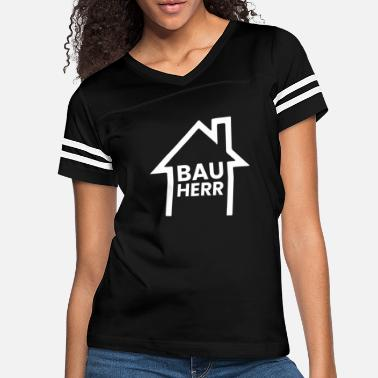 House Building Build house - client with outline of the house - Women's Vintage Sport T-Shirt
