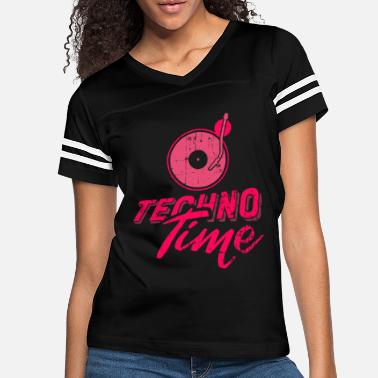 Deejay Techno Time - Drum & Bass - Women's Vintage Sport T-Shirt