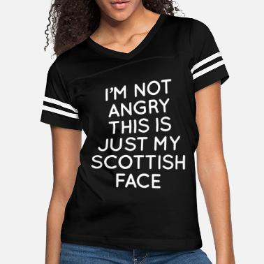 Bon Scott i m not angry this is just my scottish face scott - Women's Vintage Sport T-Shirt
