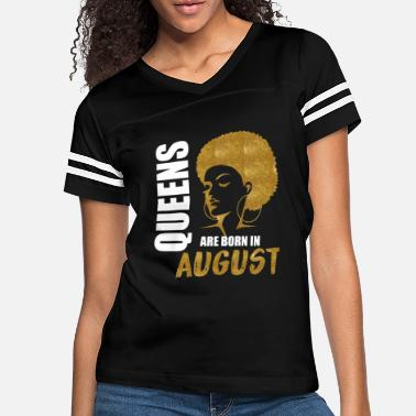 August QUEENS ARE BORN IN August - Women's Vintage Sport T-Shirt