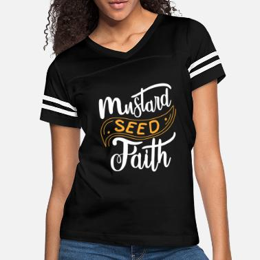 Seed Christian Faith As Small as a Mustard Seed Design - Women's Vintage Sport T-Shirt