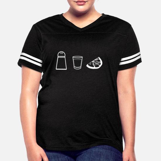 76511158fc Women's Vintage Sport T-ShirtTequila Salt Lemon Alcohol Gift Shot Party