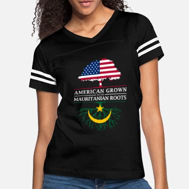 Mauritania American Grown with Mauritanian Roots Mauritania - Women's Vintage Sport T-Shirt