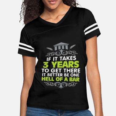 Exam Funny Lawyer Law Student Bar Exam T-Shirt - Women's Vintage Sport T-Shirt