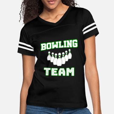 Bowling Team Bowling Team - Women's Vintage Sport T-Shirt