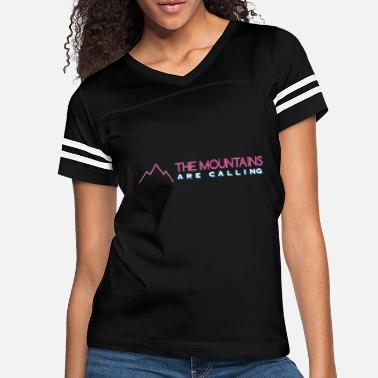 Ski Resort MOUNTAINS ARE CALLING - Women's Vintage Sport T-Shirt