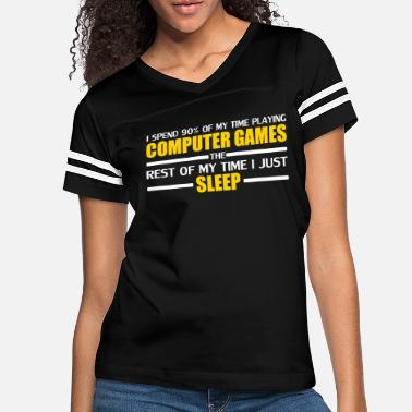 Computer Game Computer Games - Women's Vintage Sport T-Shirt