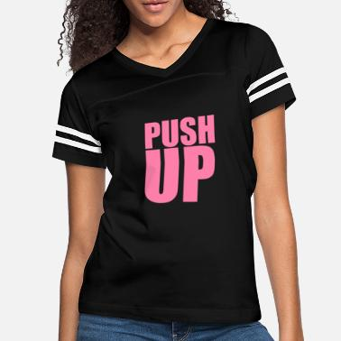 Gym Body Weight Body weight Push Ups - Women's Vintage Sport T-Shirt