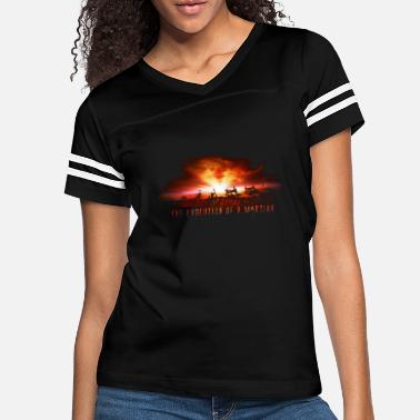 Martian The Evolution of a martian - Women's Vintage Sport T-Shirt