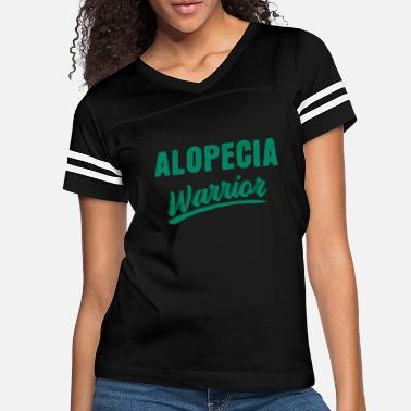 Healing Alopecia hair loss therapy fighter saying - Women's Vintage Sport T-Shirt