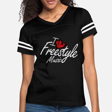 Freestyle I love Freestyle Music - Women's Vintage Sport T-Shirt