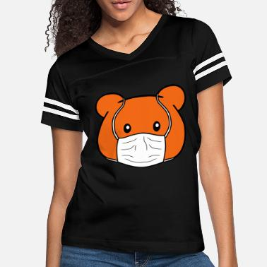 Cold Teddy bear protective - Women's Vintage Sport T-Shirt