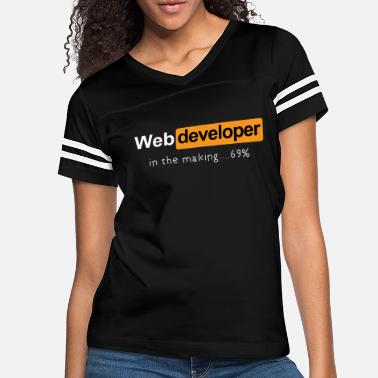 Web Coding t shirt - Web developer in the making - Women's Vintage Sport T-Shirt