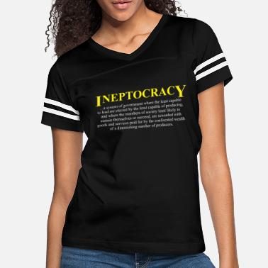 Maybe Ineptocracy definition - Women's Vintage Sport T-Shirt