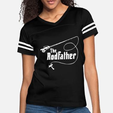 Familiesbelongtogether Rodfather fly fishing tackle rod reels fish - Women's Vintage Sport T-Shirt