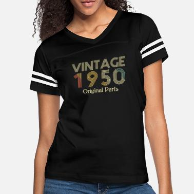Original Vintage 1950 Shirt Original Parts Birthday Italic - Women's Vintage Sport T-Shirt