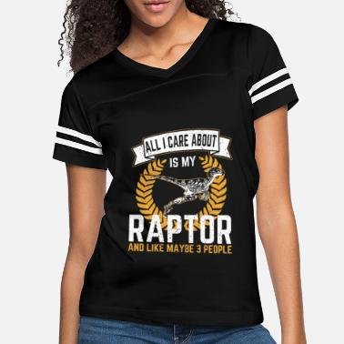 Velociraptor All I Care About Is My Raptor Gift - Women's Vintage Sport T-Shirt