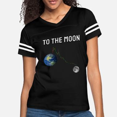 Decline Dogecoin to The Moon. - Women's Vintage Sport T-Shirt