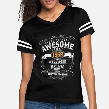 Since Awesome Since 1969 - 50th Birthday Funny Gift - Women's Vintage Sport T-Shirt
