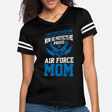 Force Proud Air Force Mom - Women's Vintage Sport T-Shirt