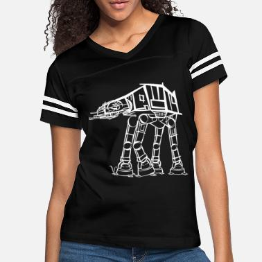 Imperialism AT-AT Imperial Walker [Artist Rendering 2] - Women's Vintage Sport T-Shirt