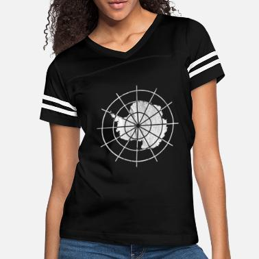 Treaty Vintage Antarctica Treaty Badge - Women's Vintage Sport T-Shirt
