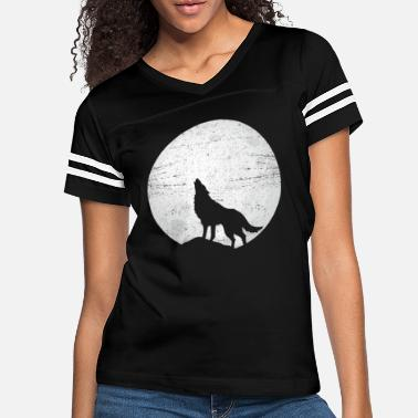 Yell Wolf forest hunter mountain yell gray fang king - Women's Vintage Sport T-Shirt
