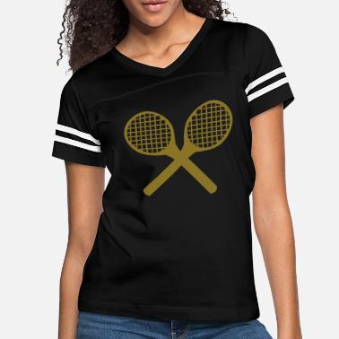 Tennis Racket Tennis Rackets - Women's Vintage Sport T-Shirt