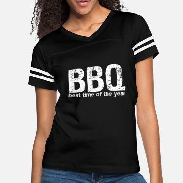 Smoker BBQ Barbecue Gift | best season meat Beef Pork - Women's Vintage Sport T-Shirt
