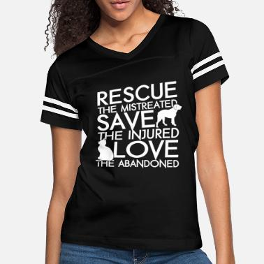 Rescue RESCUE SAVE LOVE DOG AND CAT - Women's Vintage Sport T-Shirt