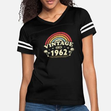 Birth Name Vintage Since 1962, Birthday Gift For Men And - Women's Vintage Sport T-Shirt